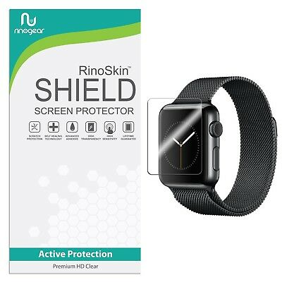 [6-PACK] RinoGear for Apple Watch Screen Protector 38mm (Series 3/2/1) [Activ...