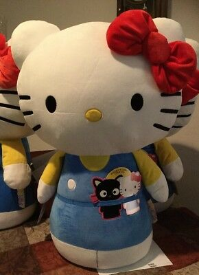 "SANRIO HELLO KITTY Itty Bitty Jumbo 27"" Plush From Hallmark"