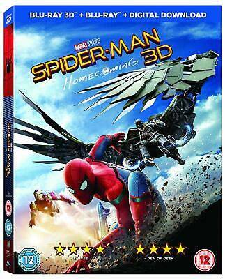 Spider-Man Homecoming [Blu-ray 3D + Comic] [2017] 5051124229162