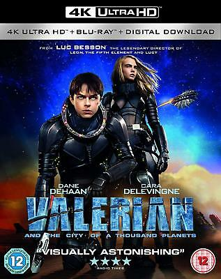 Valerian and the City of A Thousand Planets [Blu-Ray 4K] Fast post 5055761910858