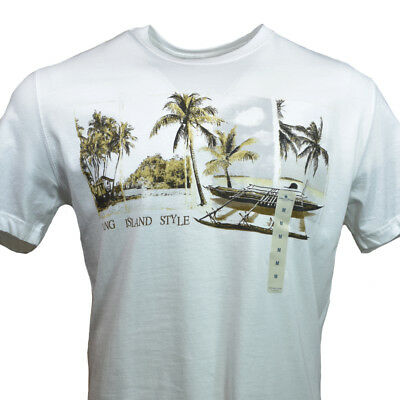 TOMMY BAHAMA Men/'s T-shirt RELAX Island Paradise Vacation Weekend Orange S M NEW