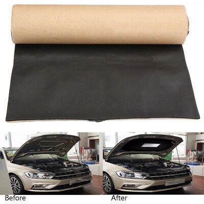 2m Roll Self Adhesive Car Auto Van Cell Foam Sound Proofing Insulation Thick 5mm