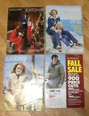 4 EATON'S STORE CATALOG Toys for CHRISTMAS 1975 1976 SALE Spring/Sum/Fall/Winter