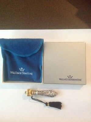 Perfume Vial By Wallace - Sterling Silver - Vintage