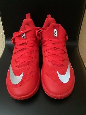 56fc6676734d Men s Nike Zoom Shift Tb Basketball Shoes 897811-600 Univ. Red Sz 10.5 New