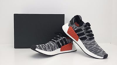 on sale eb44e 4d211 ADIDAS NMD_R2 PK Core Black/White/Red BY9409 Sizes 8.5 - 13 - BRAND NEW IN  BOX!