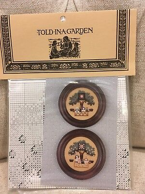 Told in a Garden - Under the Orchard - brand new cross stitch pattern