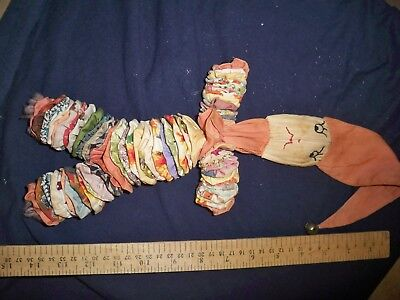 Antique Yo Yo Clown folkart  rag doll