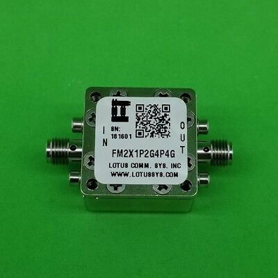 Frequency Multiplier X2 (OUTPUT 1.2 GHz to 4.4GHz) FM2X1P2G4P4G