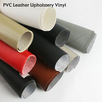 """54""""W Automotive Faux Leather Outdoor Boat Marine Vinyl Fabric Upholstery 8Colors"""
