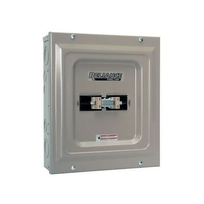 Reliance Generator Transfer Switch Power Manual Utility Indoor Service Entrance