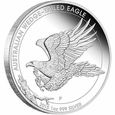 2015 Australia 1 oz Perth .999 Silver Wedge Tailed Eagle (from mint roll)