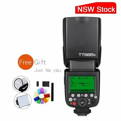AU Godox TT685S 2.4G TTL HSS 1/8000s GN60 Camera Flash Speedlite For Sony Camera