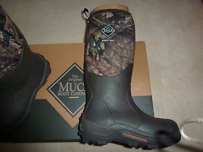ef021ac3082 MUCK BOOTS WOODY Max Cold-Conditions Hunting Boot Mossy Oak wellingtons  size 8