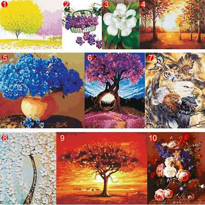 DIY Scenery Paint By Number Kit Acrylic Oil Painting On Canvas Art Home Decor AU