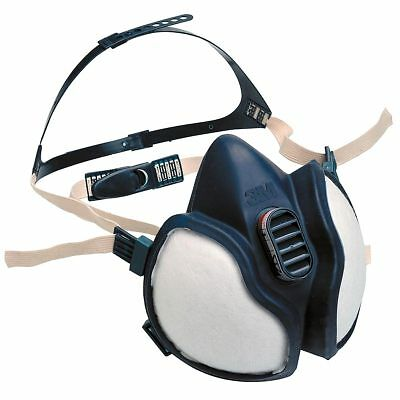 3M 4277 Half Mask Reusable Respirator Built-In Filter FFABE1P3D Maintenance Free