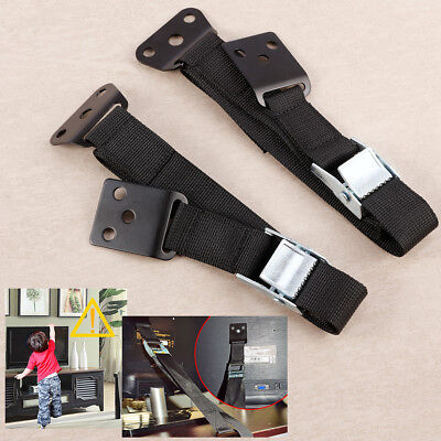 TV Furniture Wall Strap Belt Anti-tip Anchor Heavy Duty Mounting Baby Safe