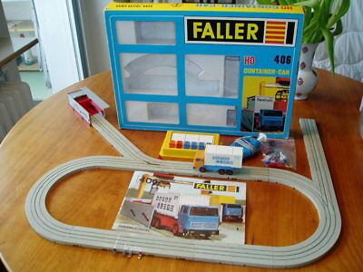 Faller 604 Container Car Set OVP