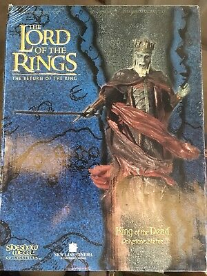 King Of The Dead Sideshow Weta Statue Lord Of The Rings