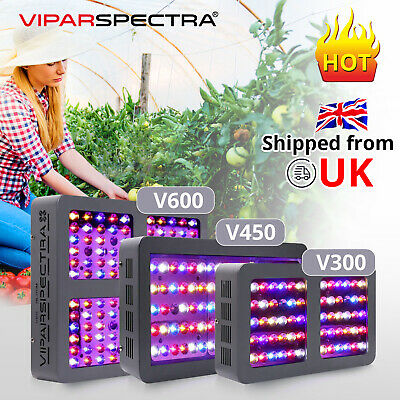 VIPARSPECTRA Full Spectrum 300W 450W 600W 900W 1200W LED Grow Lights for Plants