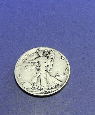 1927S circulated Walking Liberty Half