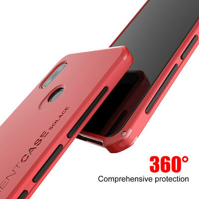 For Xiaomi Redmi Note5 MIX 2S case Metal frame Shockproof PC Cover Hard shell