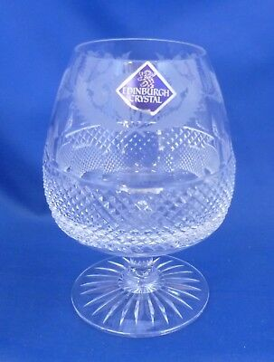 "An Edinburgh Crystal 'thistle' 5¼"" Brandy Glass"