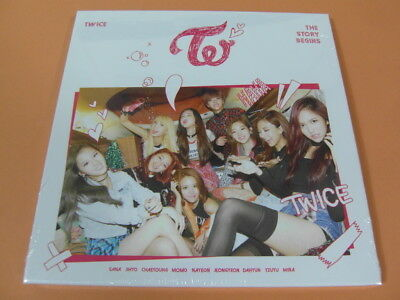 TWICE The Story Begins CD w/Photo Booklet +3 Photocard +Garland (Sealed) K-POP