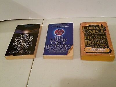 Edgar Cayce Lot of 3 Paperback Primer