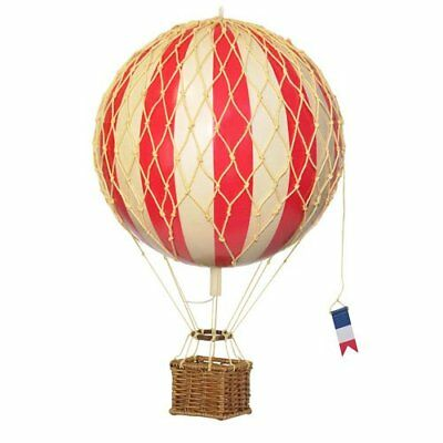 Hot Air Balloon Home Decor - Authentic Models Floating the Skies, Color: Red New