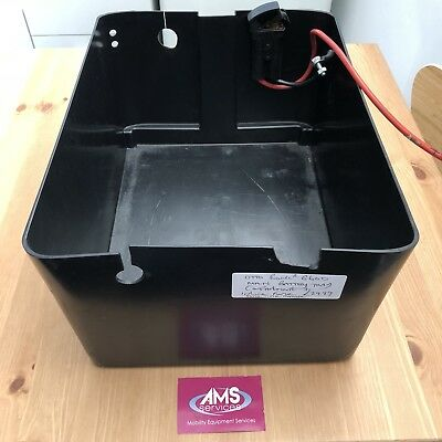 OTTOBOCK B600 ELECTRIC Wheelchair Battery Box / Tray & Inline Fuse - Parts