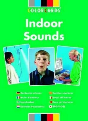 Listening Skills Indoor Sounds: Colorcards - New Book Speechmark