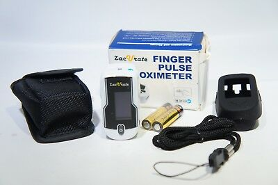 ZacVrate 430DL Finger Pulse Oximeter monitor blood oxygen Meter (H-20