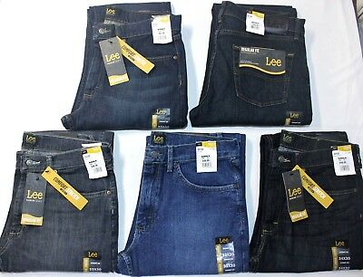 Men's Lee Jeans Premium Select Regular Fit Straight Leg Comfort Stretch