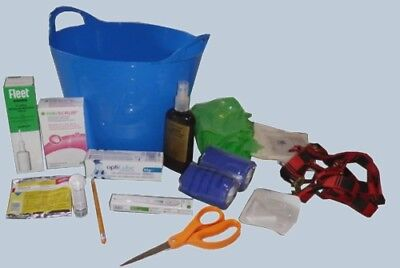 Comprehensive horse foaling kit for broodmare foal