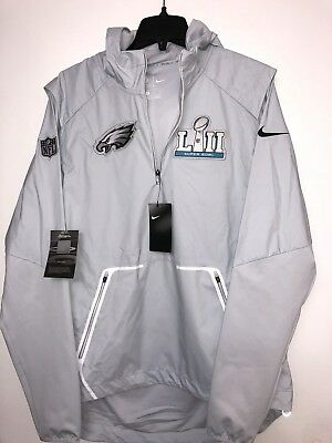 Nike Philadelphia Eagles Super Bowl Lii Bound Media Night Alpha Shield  Jacket c8af26aad