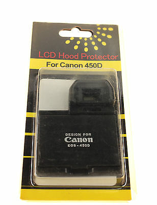 Canon Eos 450D Dslr Lcd Hood Protector New