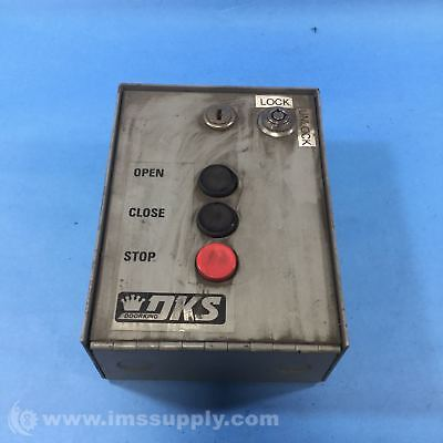 Doorking Inc 1200-006, 3-Button Control Station Usip