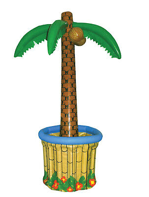 Inflatable Palm Tree Drinks Beer Cooler 170cm 5ft 7in Tall Hawaiian Beach Party