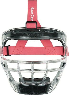 (Clear, Pink) - Markwort Game Face Softball Safety Mask - Large. Best Price