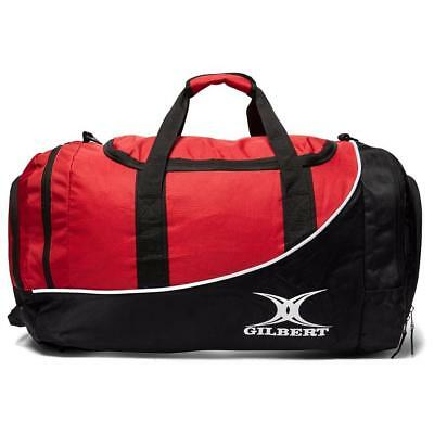 New Gilbert Club Player Holdall V2 Rugby Accessories Holdalls Black