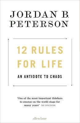 12 Rules for Life An Antidote to Chaos Brand New Hardback 9780241351635