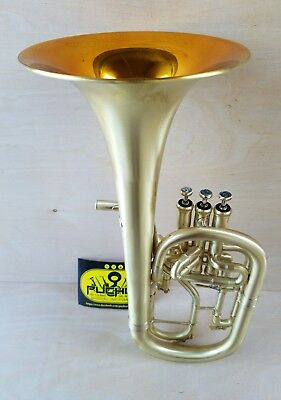 *Clearence*New Edition:John Packer 272 Satin/Gold Lac Eb Alto Horn-Professional