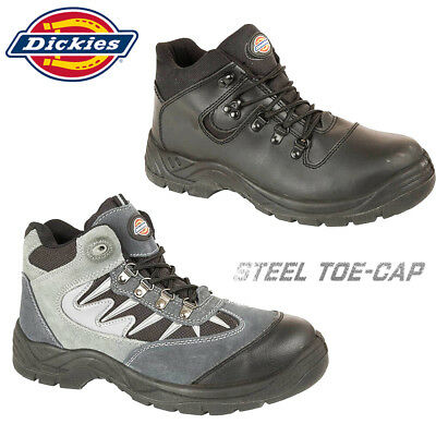 MENS LACE UP STEEL TOE CAP SUEDE WORK BOOTS SAFETY TRAINER UK SIZE 2 TO 12 HJ106