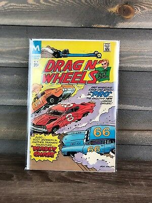 Modern Comics Drag N' Wheels #58  Feat. Scot Jackson Deadly Chase - 1978