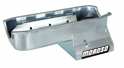 """Moroso 20196 8.25"""" Oil Pan With Tray For Chevy Small-Block Stroker Engines"""