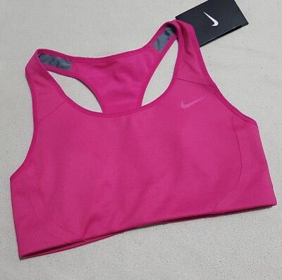 Nike Shape Training Support Sports Bra Crop Top Pink - 706579 616 - S - Rrp £28