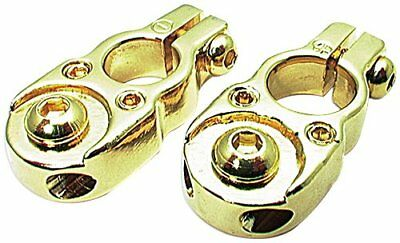 Gold Top-Post Battery Terminals