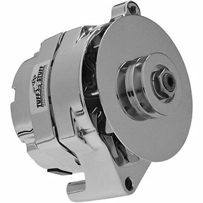 Tuff Stuff 7078Nc Chrome 100 Amp 1-Groove Pulley Alternator For Ford