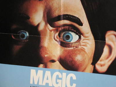 Magic Dummy 1-Sheet Poster Anthony Hopkins Ann Margret Burgess Meredith Lauter